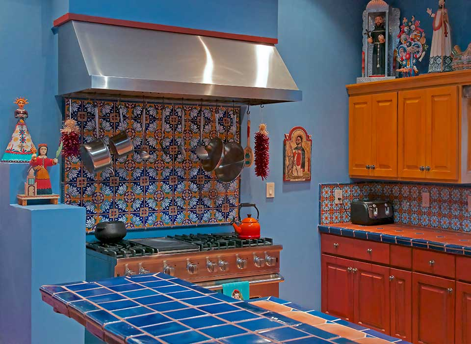 blue-kitchen